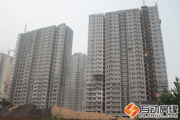 天籁新城 施工全景图