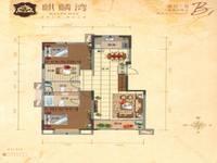 麒麟湾3室2厅2卫户型图