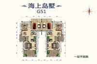 碧桂园十里金滩4室3厅4卫户型图