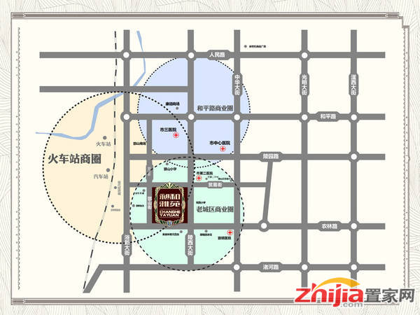 昶和雅苑 项目区域位置图