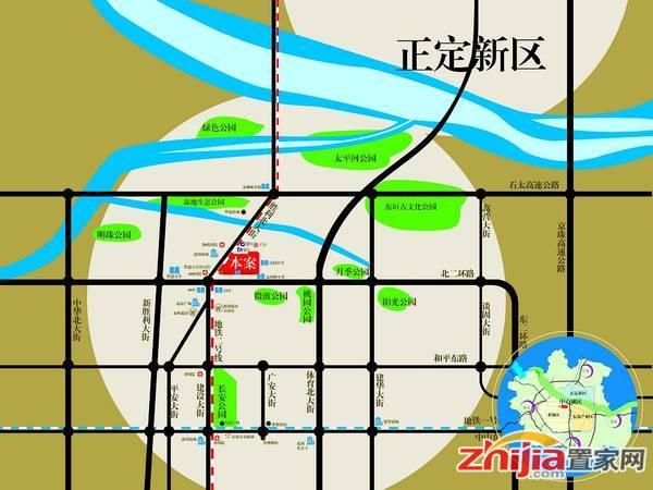 大唐金茂古运码头二期 区位图