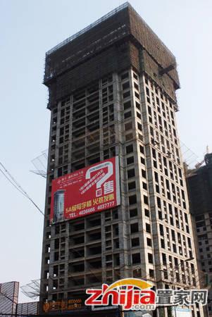 锦玉·鑫旺国际大厦 写字楼正在进行内部隔断