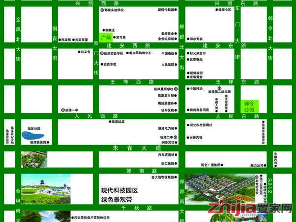 江泉富力城 项目区位图