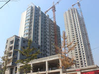 华天金街 工程实景图(2014-09-05)