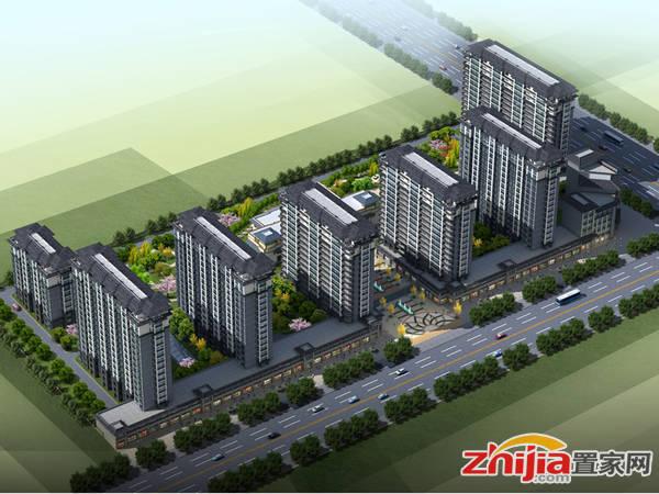 乐邦新城 项目鸟瞰图