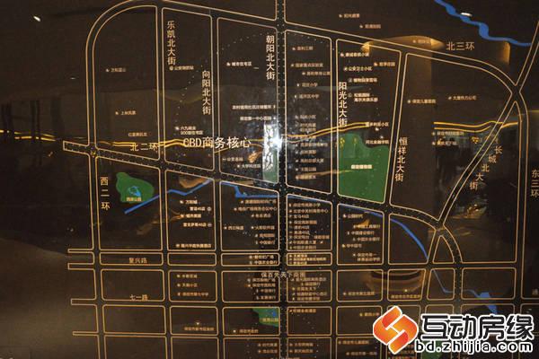 汇博上谷大观 交通图