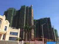 椰岛小城 施工实景照