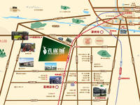 孔雀城 交通图