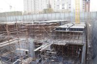 汉和商务大厦 工程进度(即将出地面)