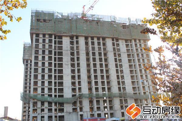 苏堤杭城 施工进度 单栋