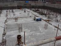 泰达大厦 地基防水作业