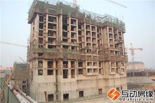 清山·公爵城 11#楼施工至9层