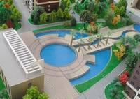 赵王宾馆  美景城中间楼层的两室两厅  原价出售