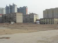 大友时代广场 项目工地地面已平整,春节过后即将动工建设。