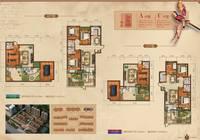 天下锦程花苑5室3厅3卫户型图