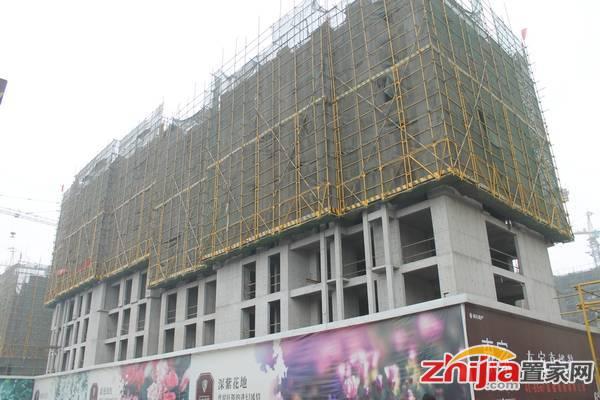 华林国际 工程进度(盖至十层)