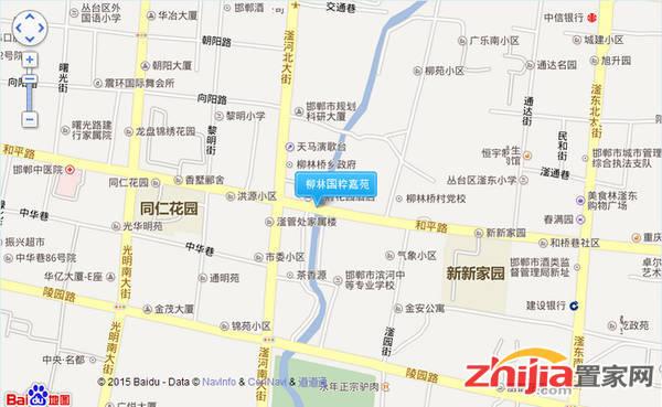 柳林国粹嘉苑 交通图