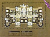 万浩锦河湾7室4厅6卫户型图