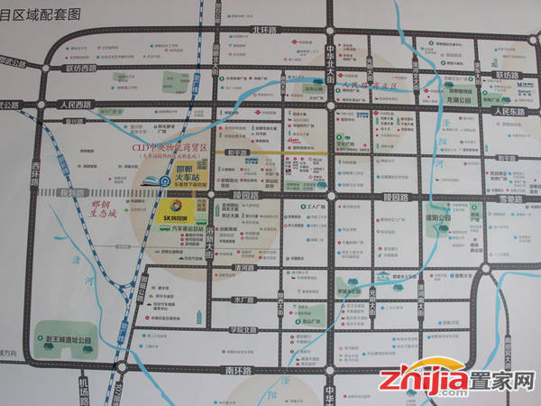 SK韩国城 交通图