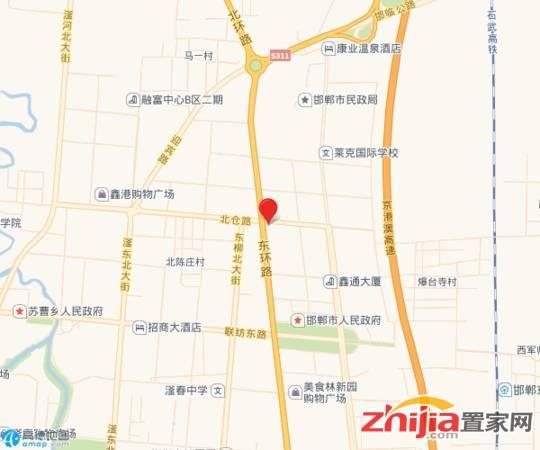 印象东城 交通图