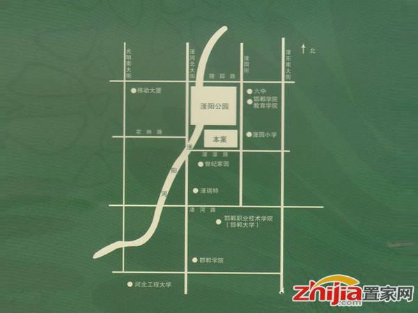 龙仕·公园里 交通图