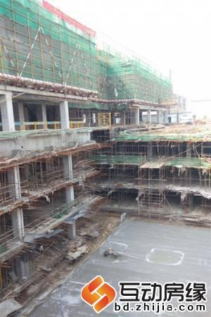 百悦·梧桐商务中心 地上4层即将结顶