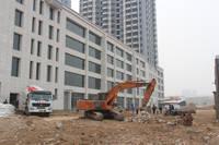 宝盛·花语城 项目底商广场进度图