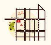 万腾·御景城 交通位置图