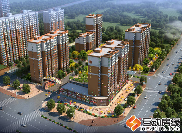 锦绣城二期 鸟瞰图