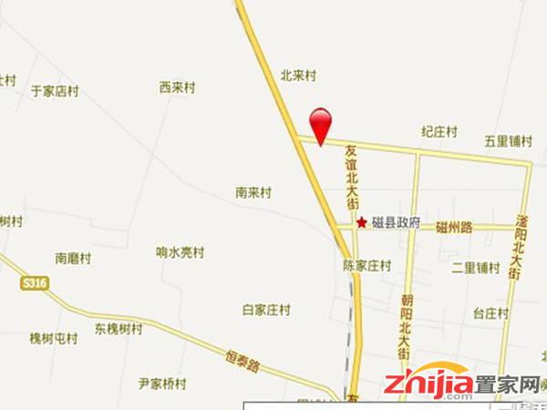 中盛国贸广场 交通图