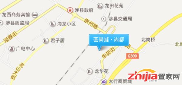 荟景峰·尚都 区位图