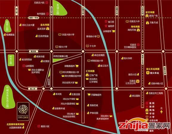 红树湾 区位图