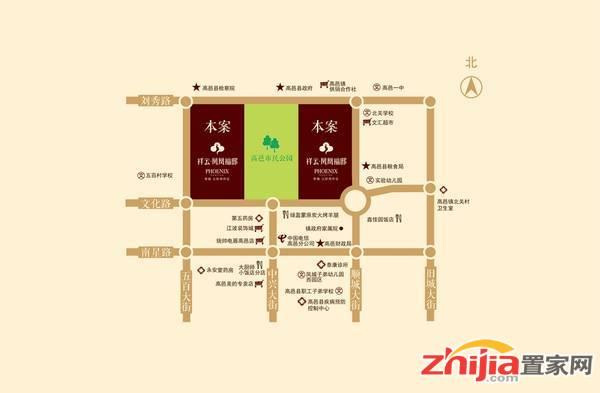 祥云·凤凰福邸 区位图