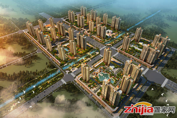 淳茂·公园城 鸟瞰图
