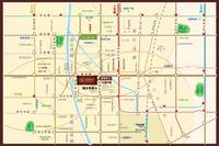 华府国际 交通图