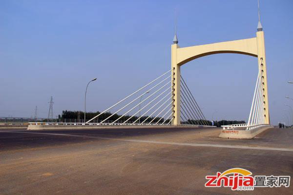邢台碧桂园 项目北侧的南水北调大桥