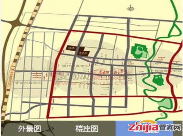 宏宇城沿街
