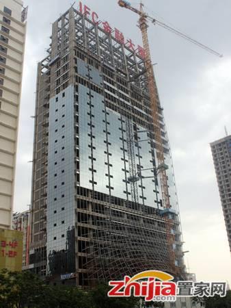 IFC国际金融大厦 施工实景照
