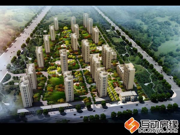 科华·锦东茗郡 鸟瞰图
