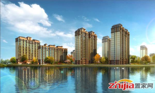 慧昌·海山湖 贺庄沿河效果图