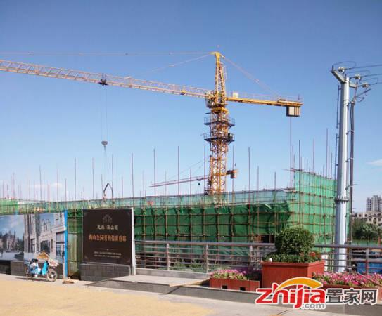 慧昌·海山湖 工程进度