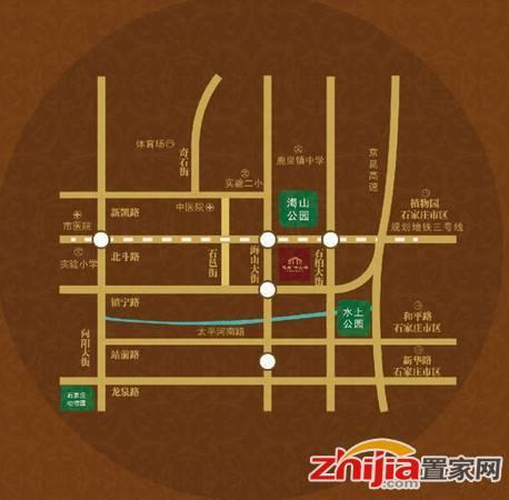慧昌·海山湖 区位图