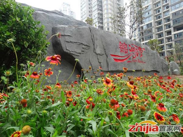 万浩锦河湾 园林实景照