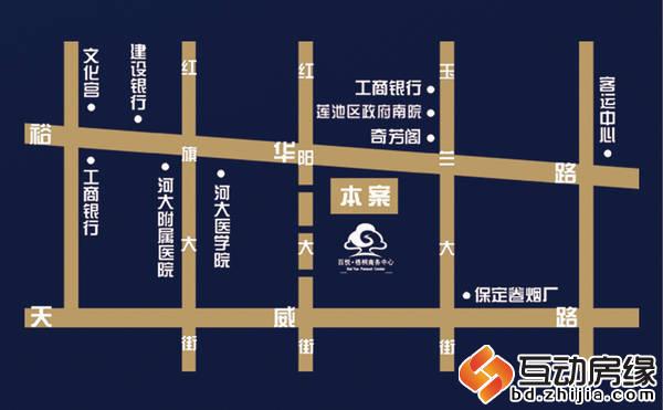 百悦·梧桐商务中心 区位图