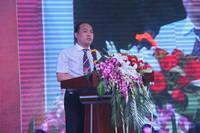 万浩锦河湾 万浩地产董事长贾胜国先生发表致辞