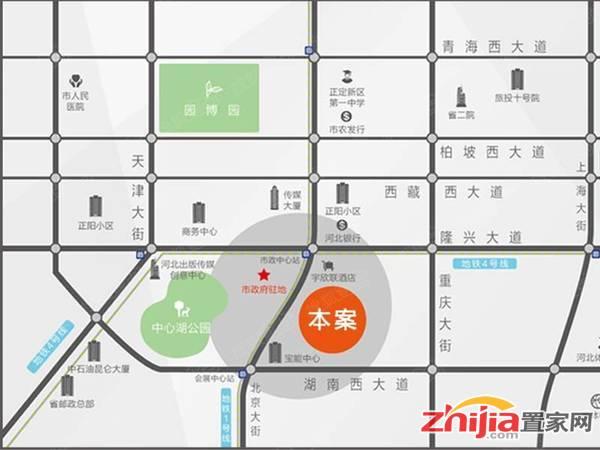天山壹方中心 交通图
