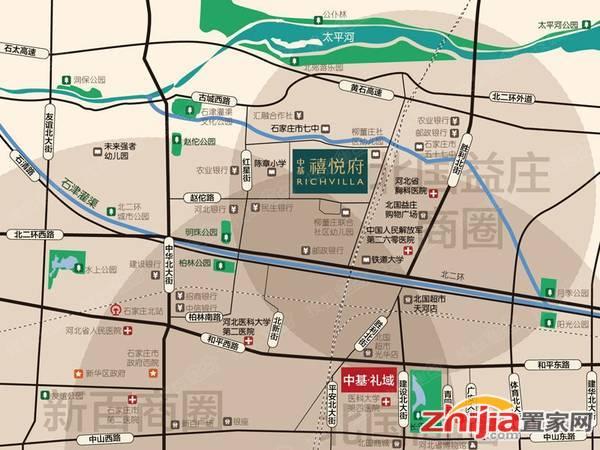 中基禧悦府 交通图