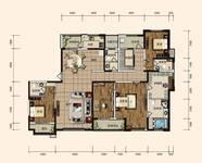 东胜·紫御府3室2厅4卫户型图