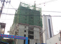 文津花园 2#楼建到11层