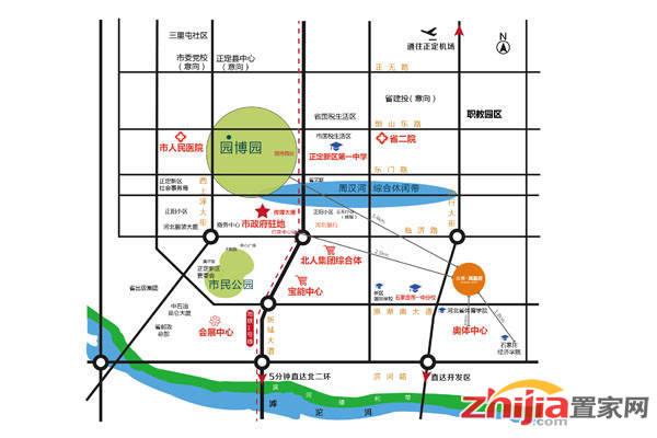众美·凤凰府 交通图